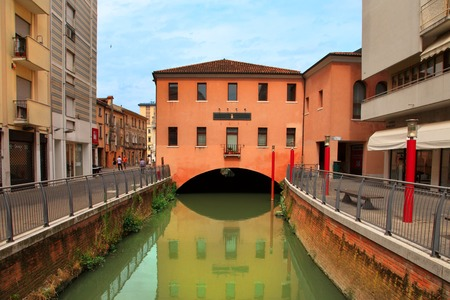 daniele: VENICE, MESTRE-June 29, 2014: Mestre on June 29, 2014.  Mestre is the most populated urban area of the mainland of Venice, part of the territory of the city of Venice, in Veneto, Italy.
