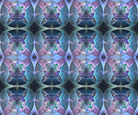 Fractal geometric pattern. Computer generated graphics. Artwork for creative design, art and entertainment