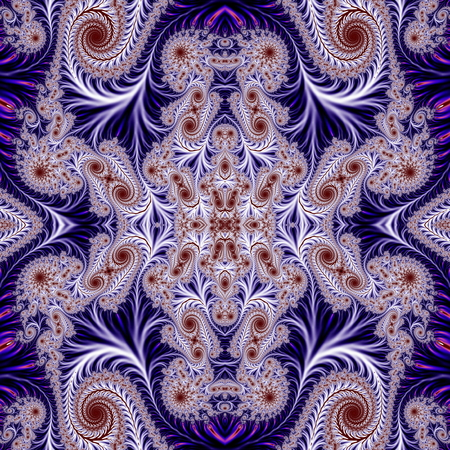 Beautiful Background with Spiral Pattern. Collection - Oriental tales. Artwork for creative design, art and entertainment. photo