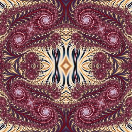 carpet flooring: Beautiful Background with Spiral Pattern. Collection - Oriental tales. Artwork for creative design, art and entertainment. Stock Photo