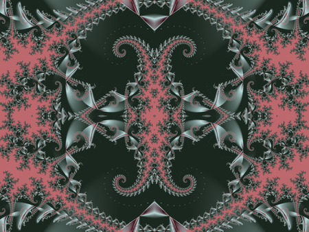 batik: Fabulous background. Satin pattern with spirals. Artwork for creative design, art and entertainment.