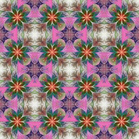 tapis: Beautiful pattern in fractal design. Artwork for creative design, art and entertainment.