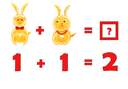 enumerate: Illustration of Education Mathematics for Preschool Children