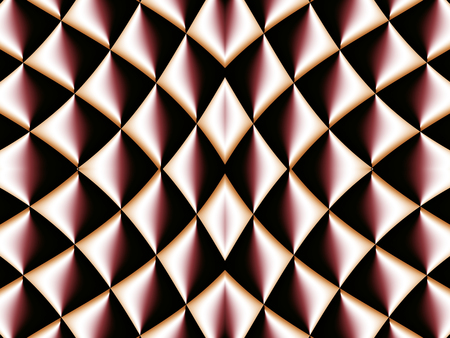 smoothed: Symmetrical fractal pattern. Collection - cells. Artwork for creative design, art and entertainment