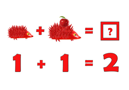 enumerate: Illustration of Education Mathematics for Preschool Children