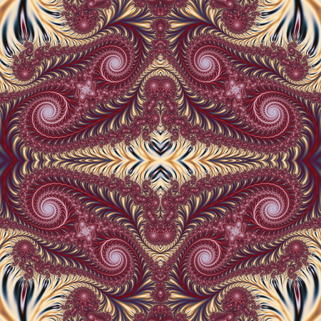 carpet and flooring: Beautiful Background with Spiral Pattern. Collection - Oriental tales. Artwork for creative design, art and entertainment. Stock Photo
