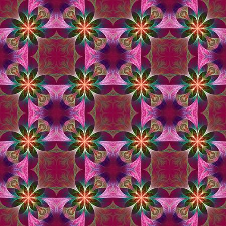 carpet flooring: Beautiful pattern in fractal design. Artwork for creative design, art and entertainment.