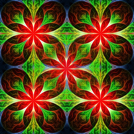 feelers: Beautiful flower fractal pattern. Computer generated graphics. Artwork for creative design, art and entertainment.