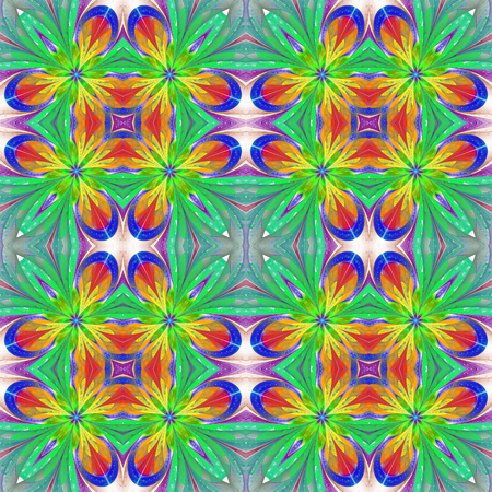 window case: Multicolored symmetrical pattern in stained-glass window style on light. You can use it for invitations, notebook covers, phone case, postcards, cards and so on. Artwork for creative design, art and entertainment.