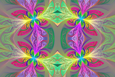 window case: Multicolored Symmetrical flower pattern in stained-glass window style. You can use it for invitations, notebook covers, phone case, postcards, cards and so on. Artwork for creative design, art and entertainment.