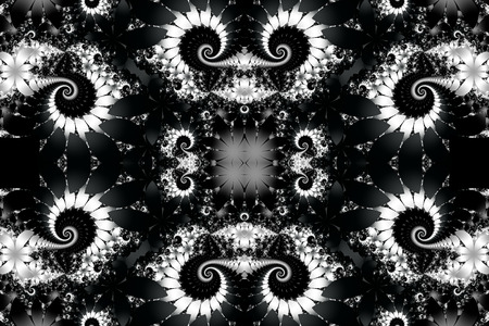 blackwhite: Fabulous black-white background. You can use it for invitations, notebook covers, phone case, postcards, cards, wallpapers and so on. Artwork for creative design, art and entertainment. Stock Photo