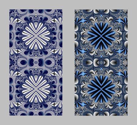entertainment graphics: Fabulous pattern for background. Artwork for creative design, art and entertainment. Computer generated graphics.