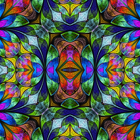 bedspread: Multicolored seamless background in stained-glass window style. You can use it for invitations, notebook covers, phone case, postcards, cards, wallpapers and so on. Artwork for creative design, art and entertainment.