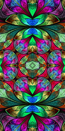 bedspread: Multicolored seamless pattern in stained glass window style. You can use it for invitations, phone covers, postcards, cards, wallpapers and so on. Artwork for creative design, art and entertainment.