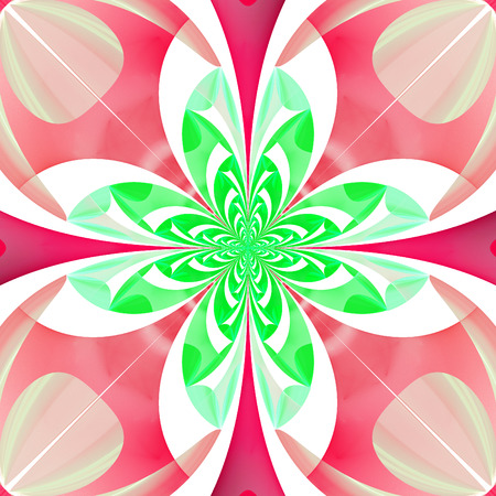 tapis: Fabulous multicolored flower pattern. You can use it for invitations, notebook covers, phone case, postcards, cards, wallpapers and so on. Artwork for creative design, art and entertainment. Stock Photo
