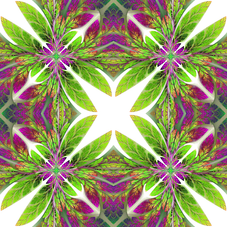 tapis: Symmetrical pattern of the leaves. You can use it for invitations, notebook covers, phone case, postcards, cards, wallpapers and so on. Artwork for creative design, art and entertainment.