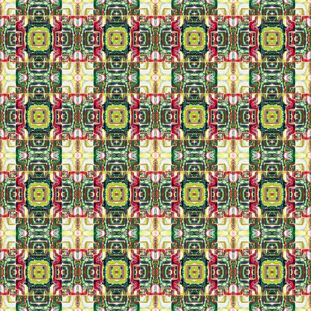 bedspread: Futuristic Geometrical seamless background. Stock Photo