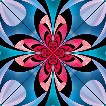 bedspread: Fabulous multicolored flower pattern.