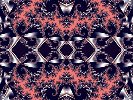 carpet flooring: Fabulous background. Satin pattern with spirals. Artwork for creative design, art and entertainment.
