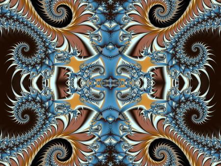 fabulous: Fabulous background with Spiral Pattern. Stock Photo