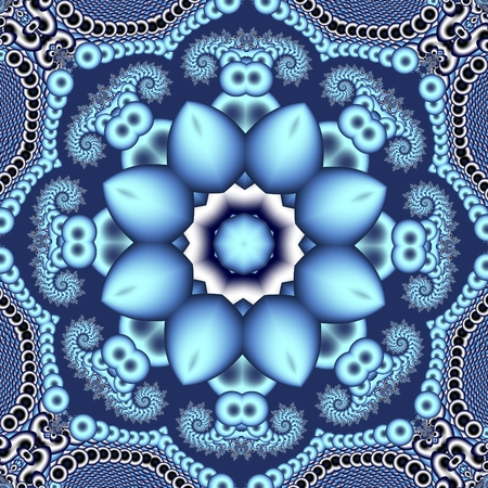 tapis: Fabulous openwork pattern. Stock Photo