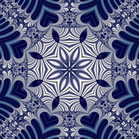 Fabulous symmetrical pattern for background.