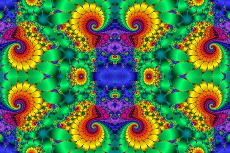 bedspread: Fabulous multicolored background. Stock Photo