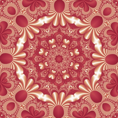 fabulous: Fabulous mandala pattern for background. Stock Photo