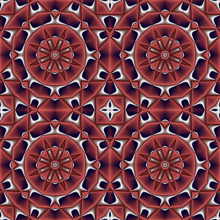 ceramics: Abstract seamless pattern with circle and geometric ornament. You can use it for invitations, notebook covers, phone cases, postcards, cards, ceramics, carpets and so on. Artwork for creative design, art and entertainment.