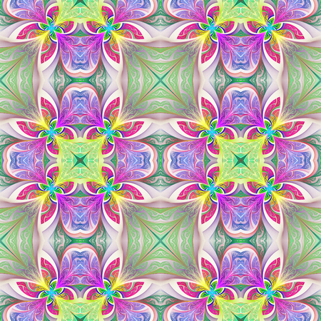 window case: Multicolored seamless flower pattern in stained-glass window style. You can use it for invitations, notebook covers, phone case, postcards, cards, wallpapers and so on. Artwork for creative design, art and entertainment.