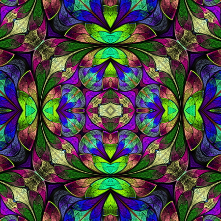 window case: Multicolored seamless background in stained-glass window style. You can use it for invitations, notebook covers, phone case, postcards, cards, wallpapers and so on. Artwork for creative design, art and entertainment.