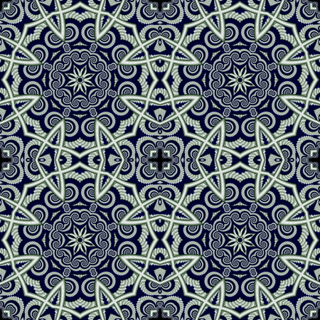 tapis: Abstract  seamless openwork background with circle ornament. You can use it for invitations, carpets, covers, phone cases, postcards, cards, lacy napkin.  Artwork for creative design. Stock Photo