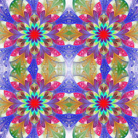 tapis: Multicolored seamless background in stained glass window style. You can use it for invitations, notebook covers, phone case, postcards, cards, wallpapers and so on. Artwork for creative design, art and entertainment.