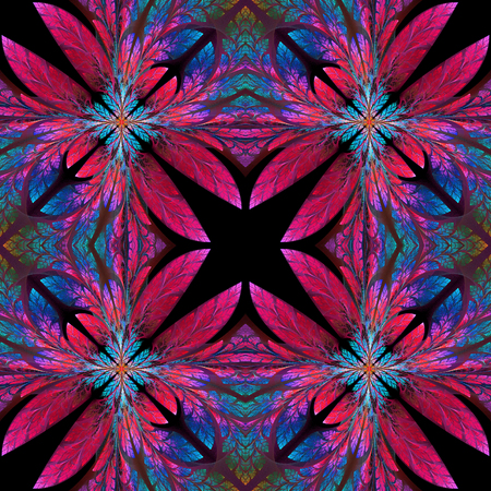 bedspread: Symmetrical pattern of the leaves. You can use it for invitations, notebook covers, phone case, postcards, cards, wallpapers and so on. Artwork for creative design, art and entertainment.