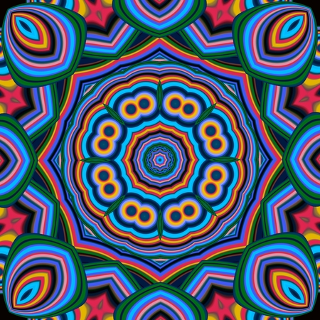 ceramics: Colorful abstract mandala background. You can use it for invitations, notebook covers, phone case, postcards, cards, ceramics, carpets and so on. Artwork for creative design, art and entertainment.