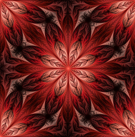 feelers: Flower pattern in fractal design. Artwork for creative design, art and entertainment. Stock Photo