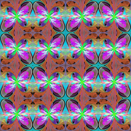 bedspread: Multicolored seamless background in stained glass window style. You can use it for invitations, notebook covers, phone case, postcards, cards, wallpapers and so on. Artwork for creative design, art and entertainment.