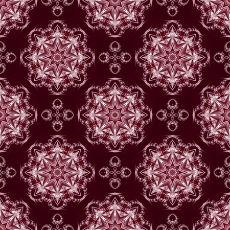 ceramics: Seamless pattern with floral circle ornament. You can use it for invitations, notebook covers, phone case, postcards, cards, ceramics, carpets and so on. Artwork for creative design. Stock Photo