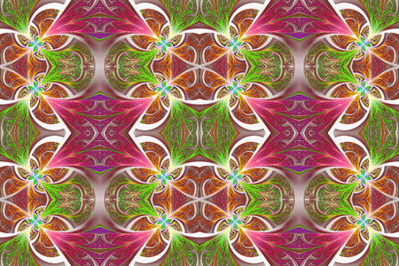 Multicolored seamless flower pattern in stained-glass window style. You can use it for invitations, notebook covers, phone case, postcards, cards, wallpapers and so on. Artwork for creative design, art and entertainment.