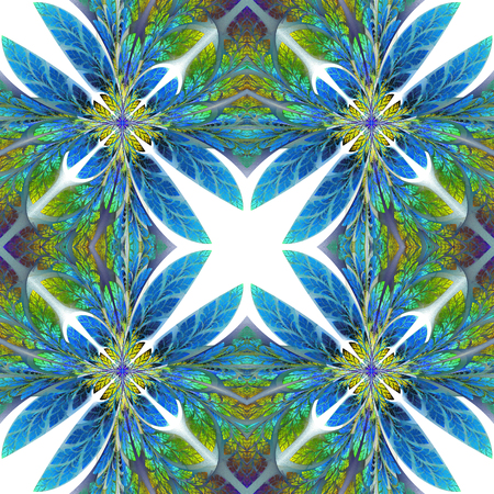 Symmetrical pattern of the leaves. You can use it for invitations, notebook covers, phone case, postcards, cards, wallpapers and so on. Artwork for creative design, art and entertainment.