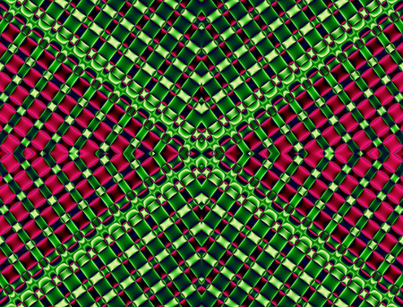 Geometrical background. Collection - cells. Artwork for creative design, art and entertainment Stock Photo