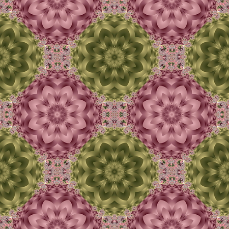 Two-tone seamless pattern with spiral and petals ornament. You can use it for invitations, notebook covers, phone case, postcards, cards, ceramics, carpets and so on. Artwork for creative design and art.
