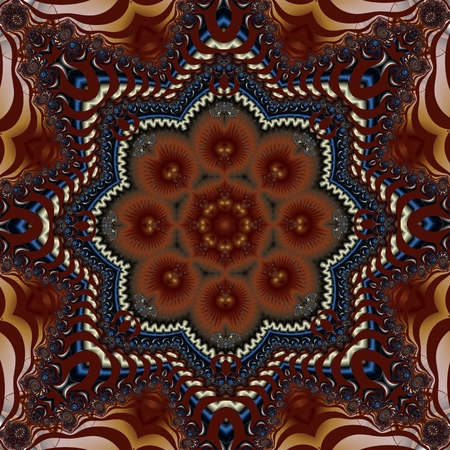 Fabulous fractal background. You can use it for invitations, notebook covers, phone case, postcards, cards, ceramics, carpets and so on. Artwork for creative design, art and entertainment.
