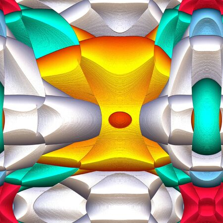 Series Game Of Shapes Abstract Modern Art Background Arrangement