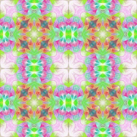 Multicolored beautiful pattern in fractal design. You can use it for invitations, notebook covers, phone cases, postcards, cards, wallpapers. Artwork for creative design, art and entertainment. Фото со стока