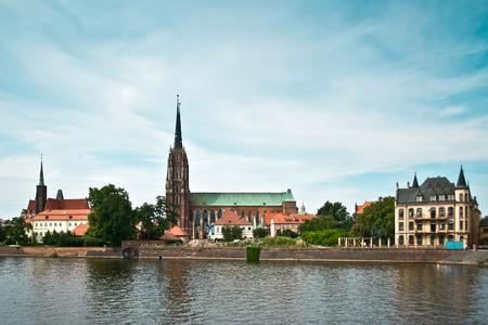 dolnoslaskie: Wroclaw Cathedral in Poland