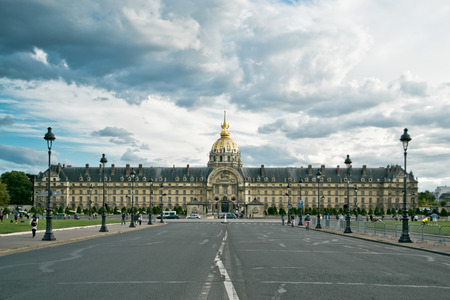 invalides: he National Residence of the Invalids. Paris
