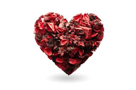 heart as symbol of valentines day. Heart health, donation, volunteer charity, CSR social responsibility, world heart day, world health day concept. 版權商用圖片