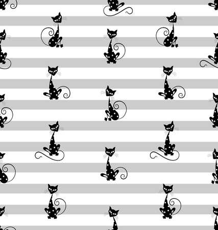 cat, fish, black, vector, cartoon, kitten, illustration, silhouette, cat, background, domestic, homemade animal, animal , abstract, pattern, fun, animals, tail, feline, couple, shape, paw, sketch, symbol, mammal, sitting, whiskers, shadow, simplicity, outline, grace, logo Иллюстрация