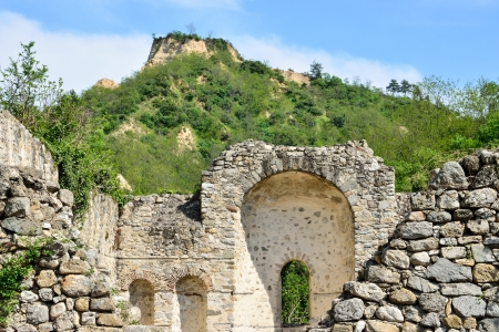 Ruins of a Christian religious shrine in Melnik, Bulgaria Stock Photo - 20863077